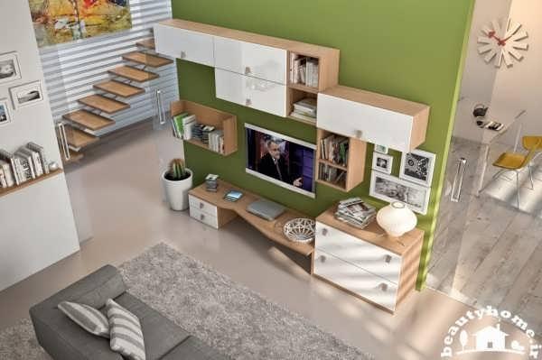 طراحی مدل میز ال سی دی مدرن
