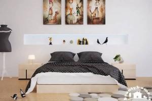 تزئینات در اتاق خواب