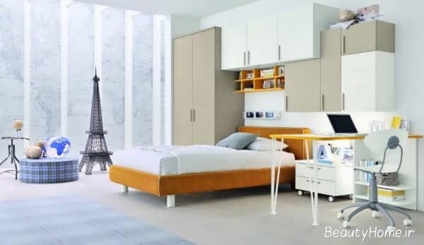 اتاق خواب مدرن پسرانه