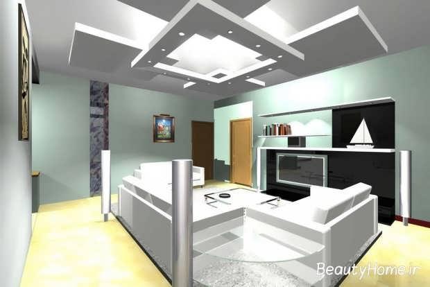 نور پردازی و کناف سقف