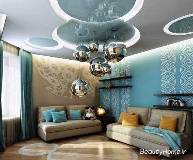 نورپردازی مدرن سقف
