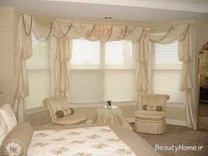 پرده مدرن اتاق خواب