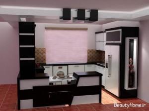آرک آشپزخانه اپن مدرن