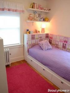 اتاق دخترانه بنفش
