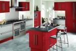 دکوراسیون آشپزخانه قرمز
