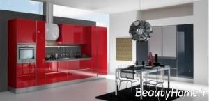 آشپزخانه قرمز