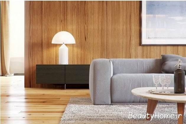 چوب های گرم و روشن در طراحی داخلی خانه