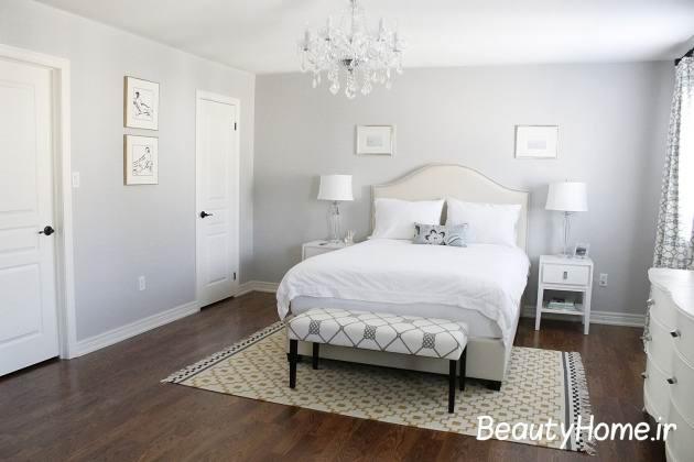 طرح پوشش ها در اتاق خواب