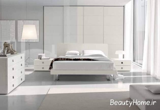 جدیدترین اتاق خواب سفید