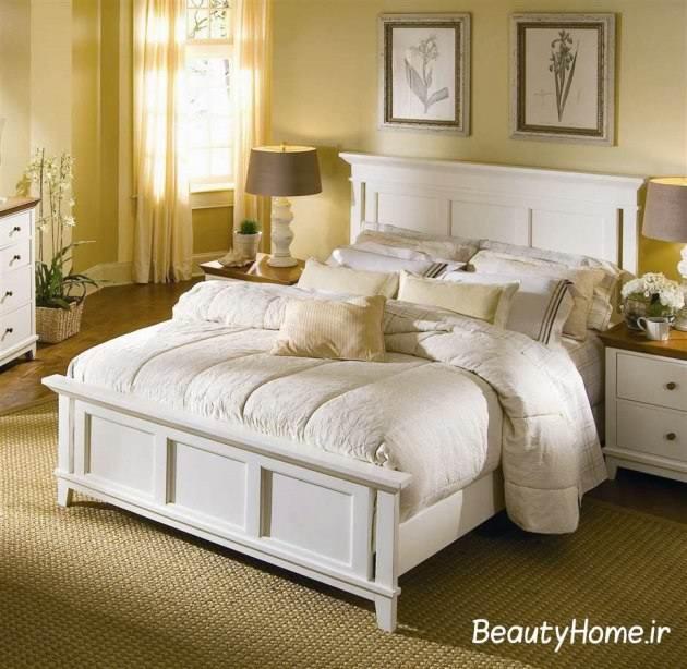 جذاب ترین اتاق خواب سفید