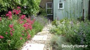 نقش گل ها در طراحی حیاط