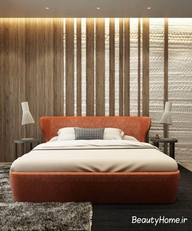چوب و طراحی اتاق خواب با آن