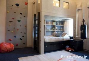 ایده های طراحی اتاق خواب پسران