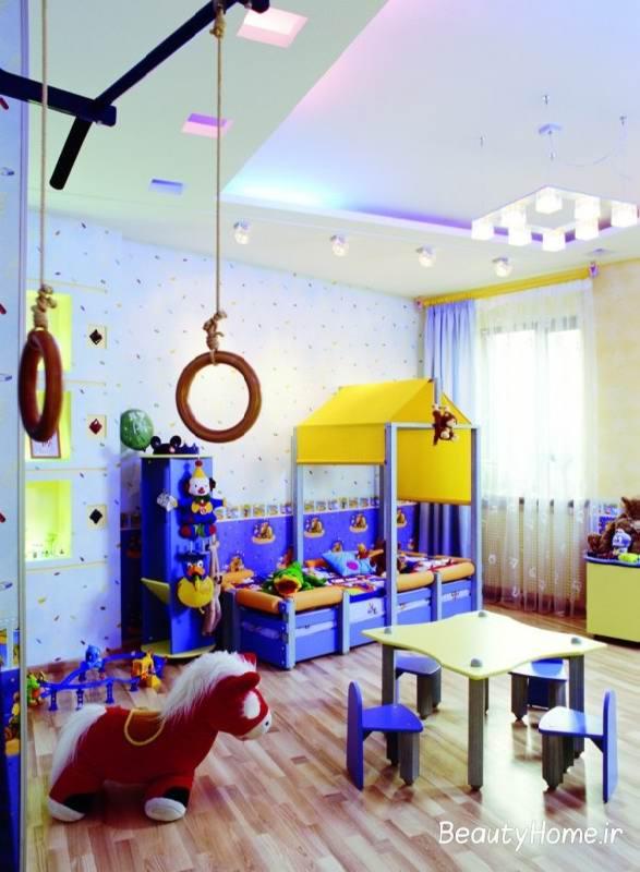 وسایل ساده در تزیین اتاق کودک