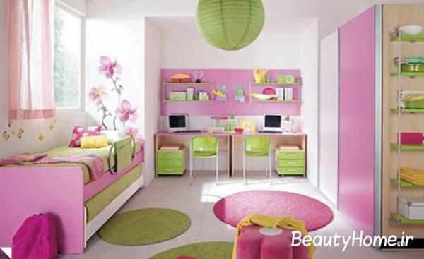 رنگ ها و تزیین اتاق