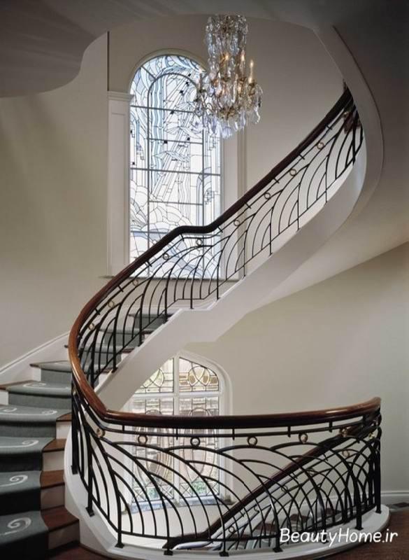 جدیدترین راه پله های فلزی