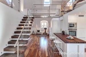 مدرن ترین راه پله های خانه های دوبلکس