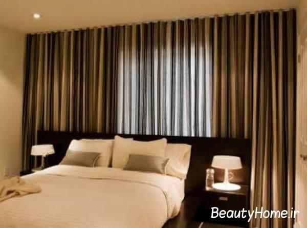 ساده ترین پرده اتاق خواب