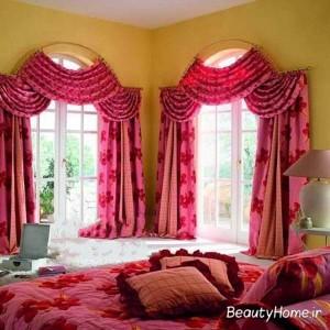 زیباترین پرده اتاق خواب
