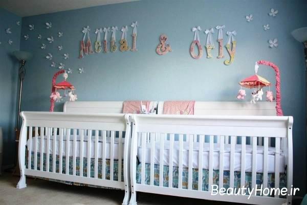 جذاب ترین اتاق نوزاد