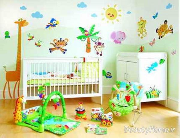 زیباترین اتاق نوزاد