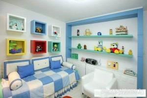 اتاق خواب آبی نوزادان