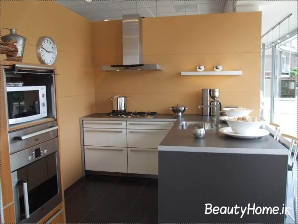 آشپزخانه کوچک و ایرانی پسند