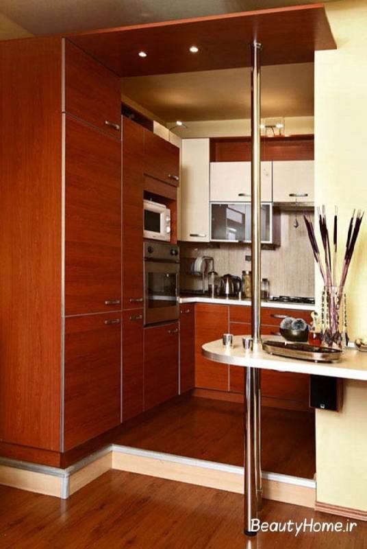 طراحی کابینت در آشپزخانه