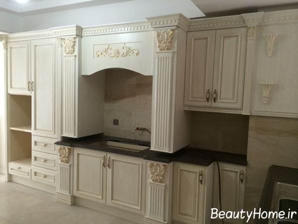 کابینت کلاسیک مدرن و زیبا