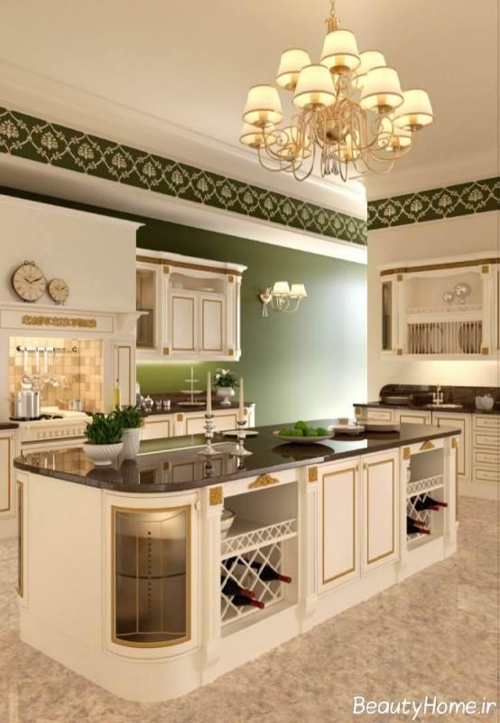 کابینت کلاسیک آشپزخانه