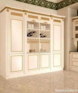 ایده آل ترین کابینت های کلاسیک
