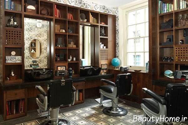 نحوه چیدمان وسایل در آرایشگاه مردانه