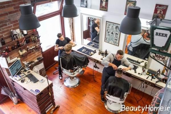 شیک ترین آرایشگاه مردانه