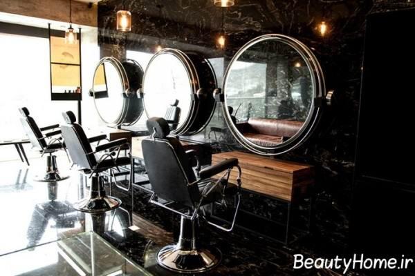 جدیدترین مدل آینه ها برای آرایشگاه ها