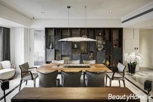 طراحی جدید اتاق غذاخوری