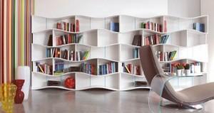طراحی کتابخانه در منزل