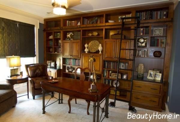 مدل کتابخانه خانگی