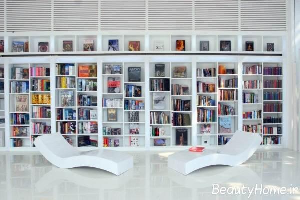 قفسه کتاب خانگی