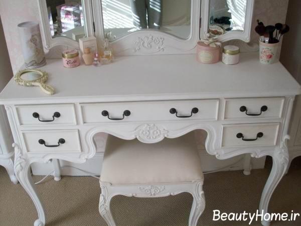 میز آرایش شیک و جذاب