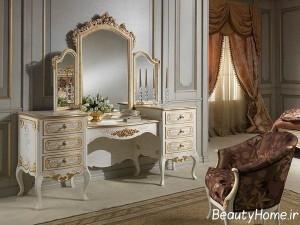 مدل های سفید میز آرایش
