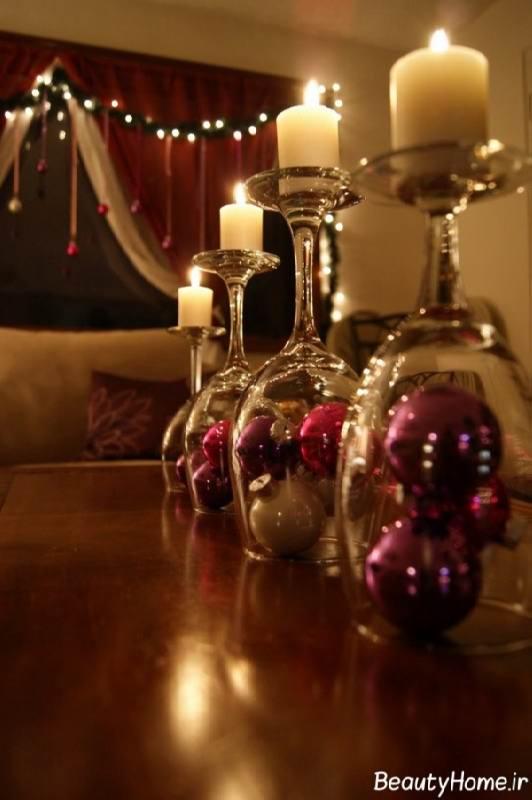 ساخت جا شمعی با لیوان های بی استفاده