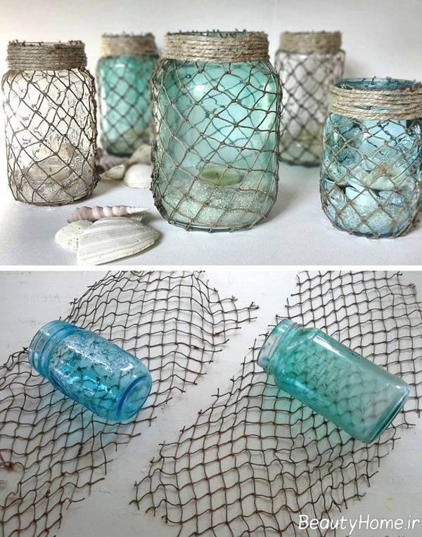 Decorar Con Portavelas Hechas Con Vasos De Yogur De Cristal