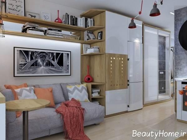 نمونه آشپزخانه های کوچک و مدرن