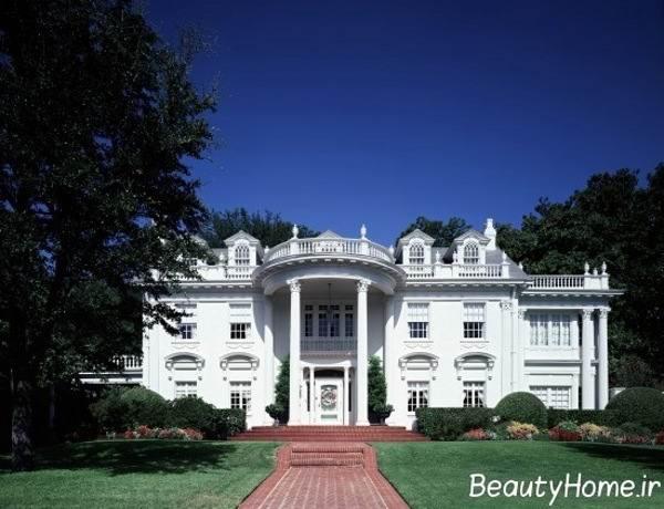 ایده های کلاسیک برای طراحی نمای خارجی ساختمان ها