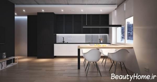 رنگ مناسب کابینت در آشپزخانه