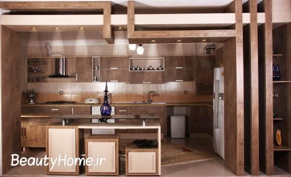 مدل کابینت های چوبی شیک