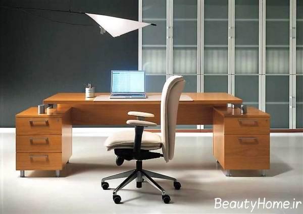 انواع طراحی میز تحریر مدرن