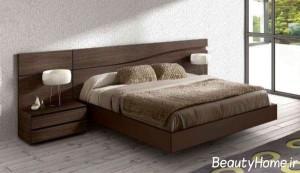جدیدترین نمونه تخت خواب های چوبی