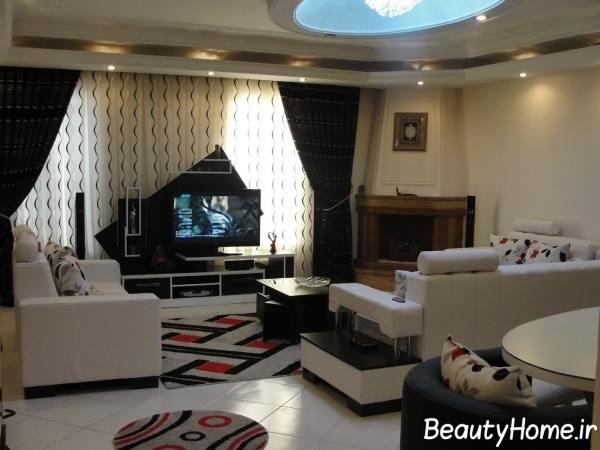 دکوراسیون داخلی خانه های بزرگ: دکوراسیون داخلی منزل ایرانی با طراحی های جدید وشیک