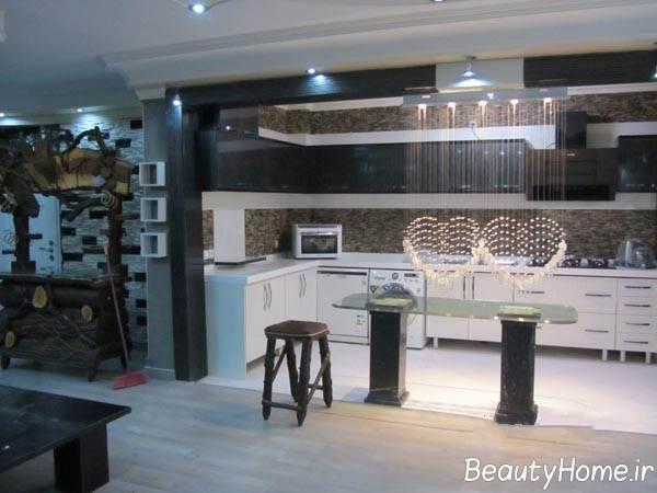 دکوراسیون آشپزخانه های ایرانی